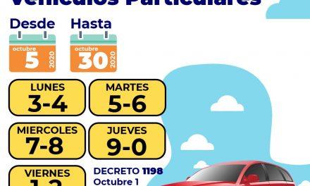 Regresa el pico y placa de vehículos particulares en Cartagena