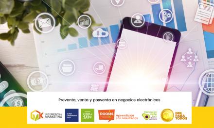 Preventa, Venta y Posventa en negocios electrónicos.
