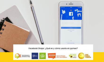Facebook Shops, una alternativa para vender en línea