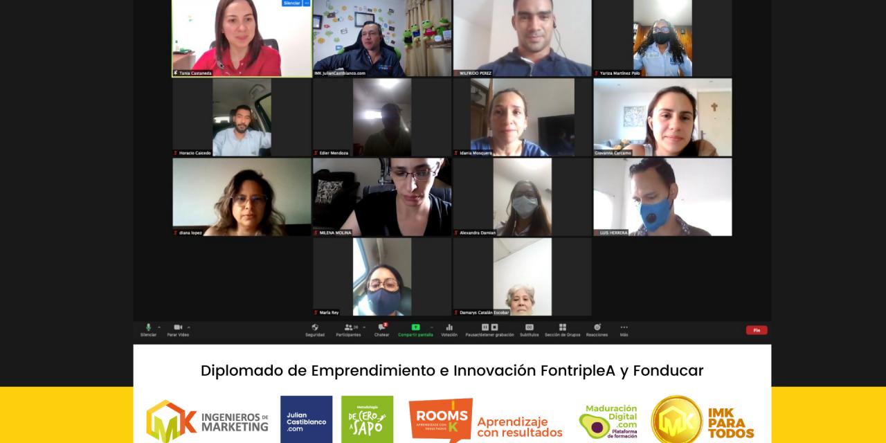 Diplomado de Emprendimiento e Innovación FontripleA y Fonducar
