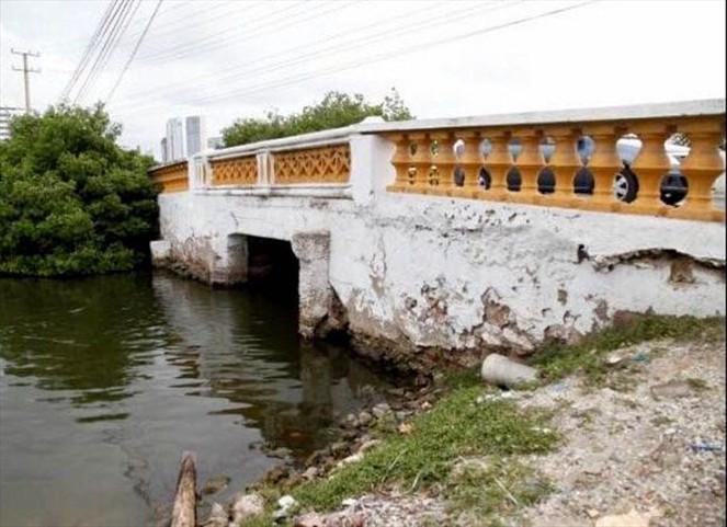 Distrito de Cartagena anuncia reconstrucción del puente Las Palmas