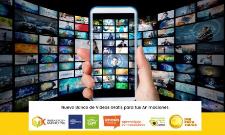 Nuevo Banco de Videos Gratis para tus Animaciones