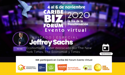 Ingenieros de Marketing IMK participará en Caribe BIZ Forum Evento Virtual