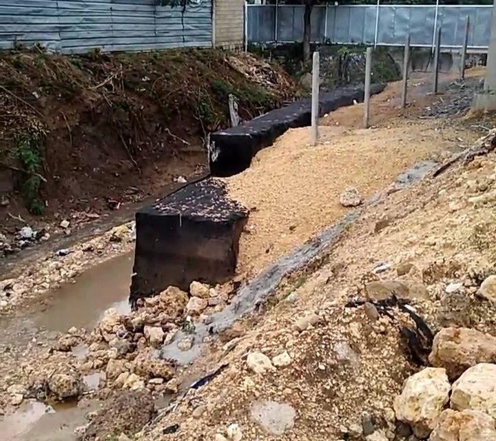 EPA investiga constructora por intervención de caño en el barrio El Campestre