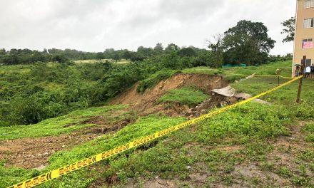 En riesgo habitantes de Turbana por deslizamientos