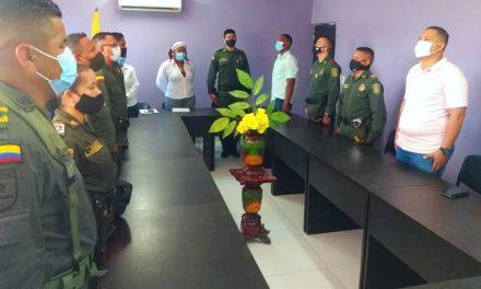 Alcaldesa de María La Baja exaltó labor de la Policía Nacional en sus 129 años de historia
