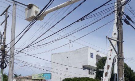 Suspensión de energía en subestación Bocagrande