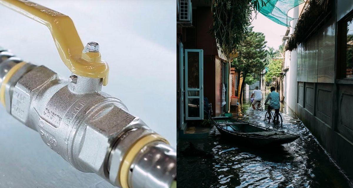 Medidas de seguridad en medio de las inundaciones