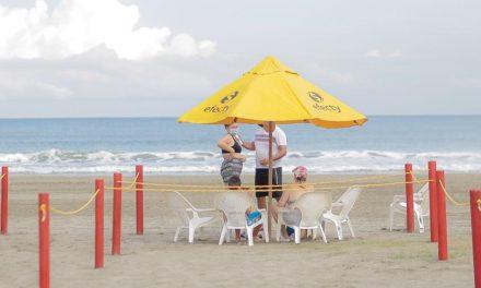 Se reabren tres tramos de playa biosegura en Bocagrande
