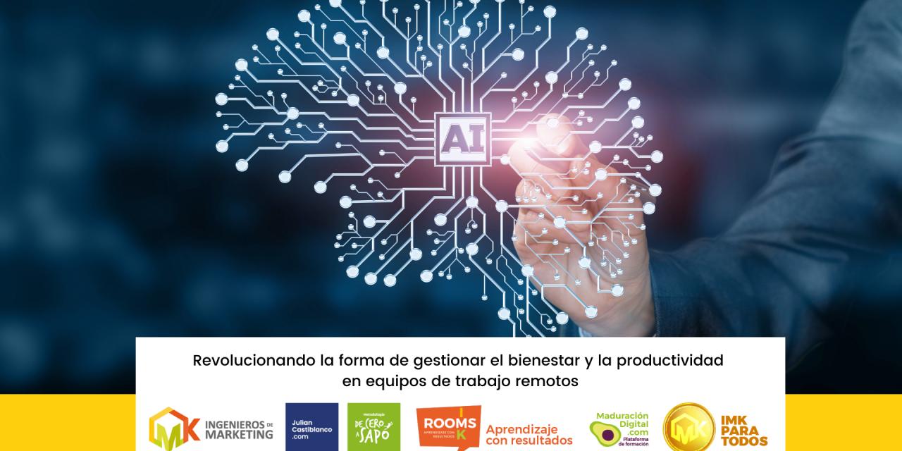 Revolucionando la forma de gestionar el bienestar y la productividad en equipos de trabajo remotos