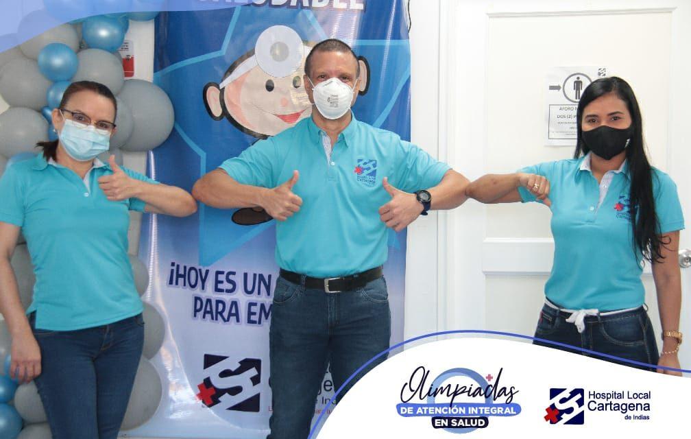 Primera Olimpiada Integral en Salud en la ESE HLCI
