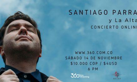 Santiago Parra celebra mañana el 'Renacer' de su nuevo lanzamiento y sus 16 años en la música