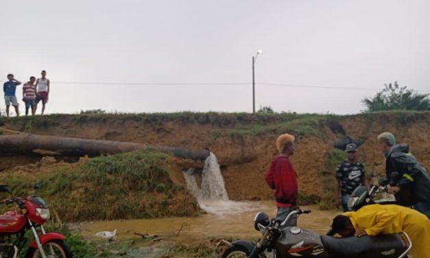 Daño en tubería afecta prestación del servicio de agua potable en Turbaco