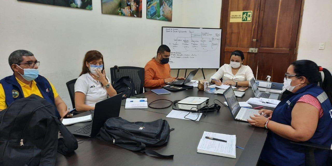 Alerta amarilla hospitalaria por lluvias en Cartagena