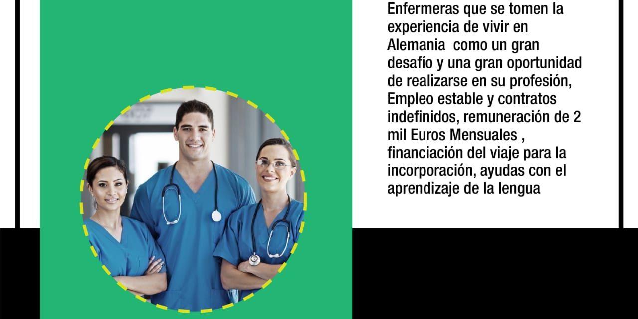 Convocatoria de empleo en el exterior, personas entre 18 y 47 años