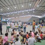 Gestión Social del Distrito trabaja por los niños afectados por IOTA