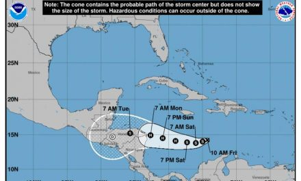 Depresión Tropical podría alcanzar la categoría de Huracán en el Caribe colombiano