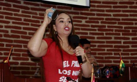 """""""Con la comida de los niños no se juega"""" Gloria Estrada en debate de control político"""