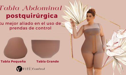 Tabla abdominal postquirúrgica tu mejor aliado en el uso de prendas de control
