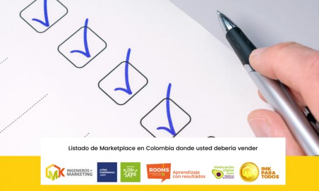 Listado de Marketplace en Colombia donde usted debería vender