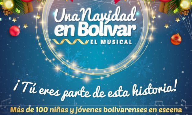 Gobernación de Bolivar crea el show virtual  'Una Navidad en Bolívar, El Musical'