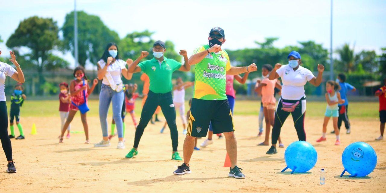 Alcaldía reactiva deporte y recreación para más de 800 niños en Arjona, Bolívar