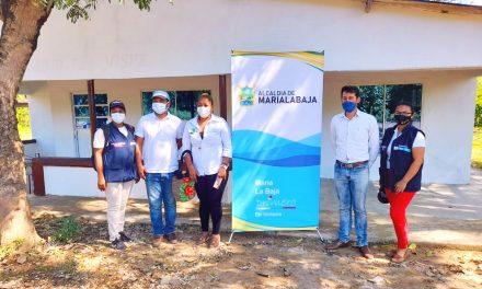 Alcaldía entregó obras de remodelación del Puesto de Salud 'El Níspero' en María La Baja