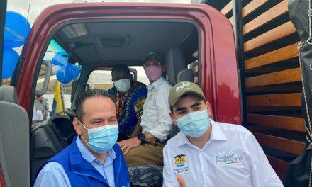 Comunidad palenquera recibe camión para comercializar productos, con dinero de la FARC