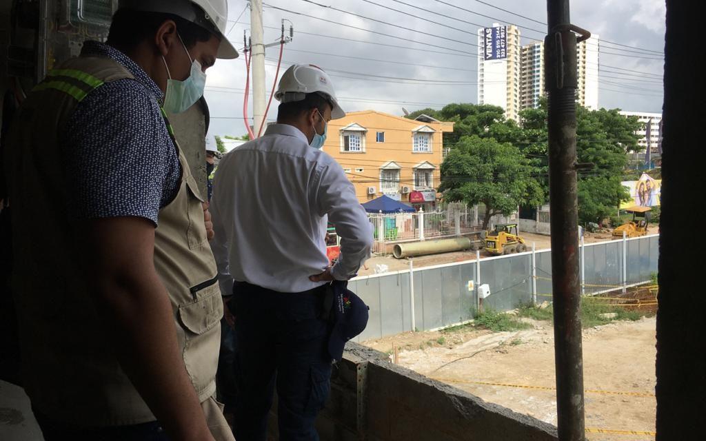 Corvivienda supervisa la correcta ejecución del proyecto VIS Bahía San Carlos