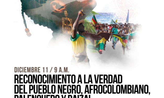 Octavo encuentro por el reconocimiento de la verdad del pueblo negro, afrocolombiano, palenquero y raizal