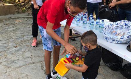Fundación Nobles Sonrisas realizó entregas de regalos