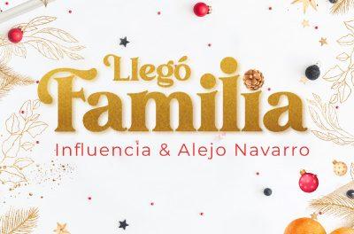 """""""Llegó Familia"""", lo nuevo de Influencia junto a Alejo Navarro"""