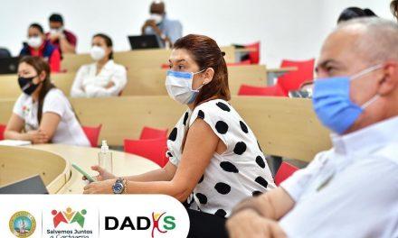 DADIS capacita a prestadores de servicios de Salud