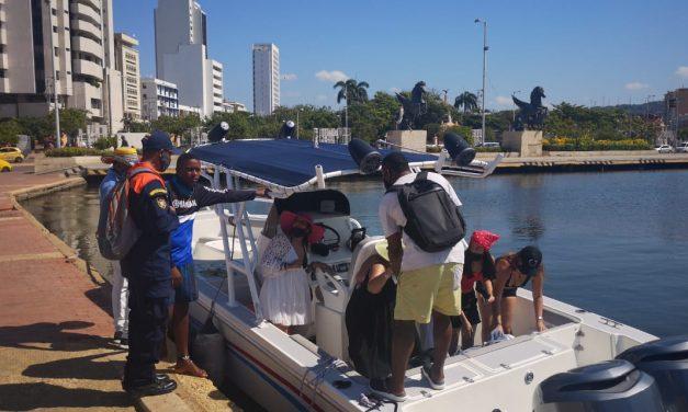Dimar intensifica controles para temporada vacacional en Cartagena