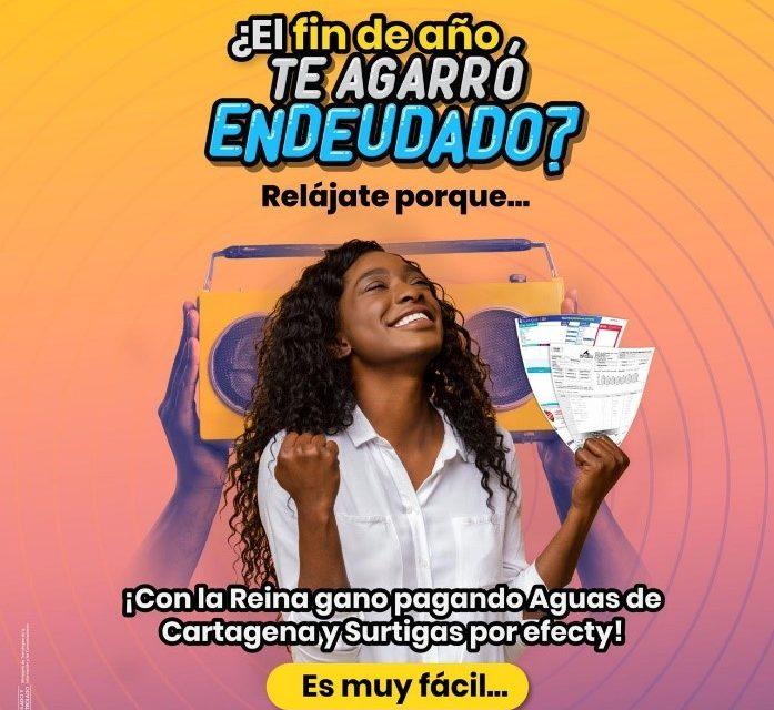 Aguas de Cartagena y Efecty premian a sus usuarios puntuales con el pago de servicios