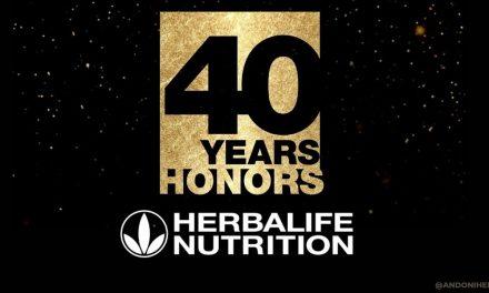 Herbalife Nutricion celebra sus 40 años