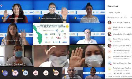 «Bolívar primero» se compromete a lograr un territotio libre de mercurio