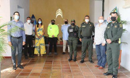 Empresarios de Cartagena y Policía Nacional, comprometidos con la reactivación económica
