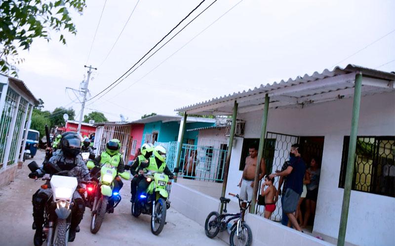 Gobernación del Atlántico decretó toque de queda y ley seca para todos los municipios durante 3 fines de semana