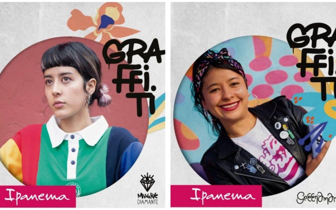 Graffiti: la nueva línea de sandalias de Ipanema diseñadas por Graffiteras colombianas