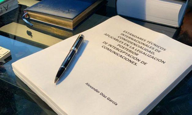 Primer libro en Colombia sobre las interceptaciones