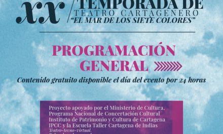 Comienza la  XX temporada de Teatro Cartagenero