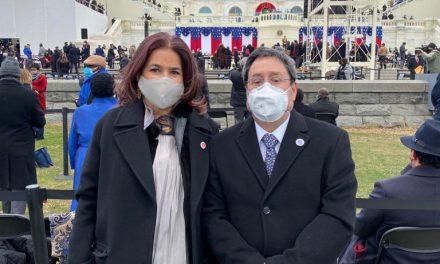 El Embajador de Colombia ante Estados Unidos asistió al acto de posesión del Presidente Joe Biden