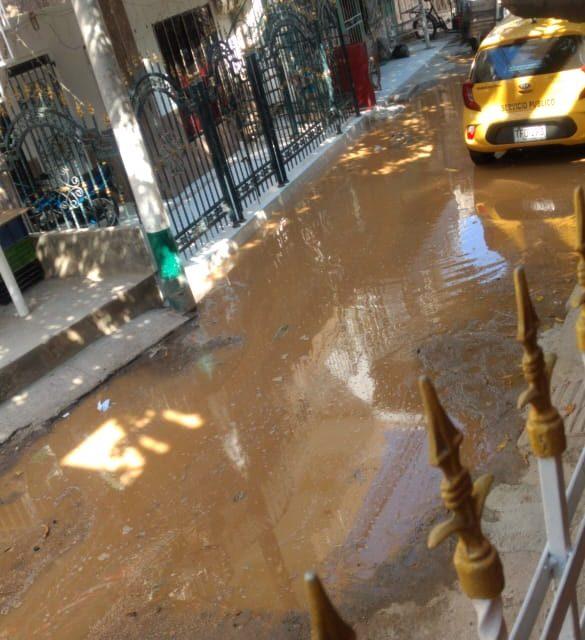 Más del 50% de barrios de Cartagena está sin agua