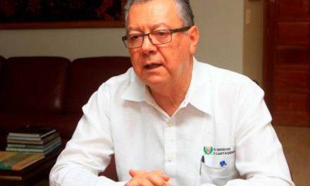 El rector de la Universidadde Cartagena solicita reconocimiento de la condición procesal de víctima