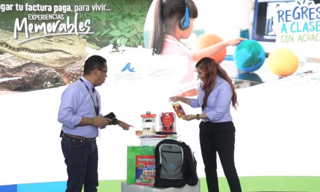 Aguas de Cartagena continúa el sorteo de 200 premios