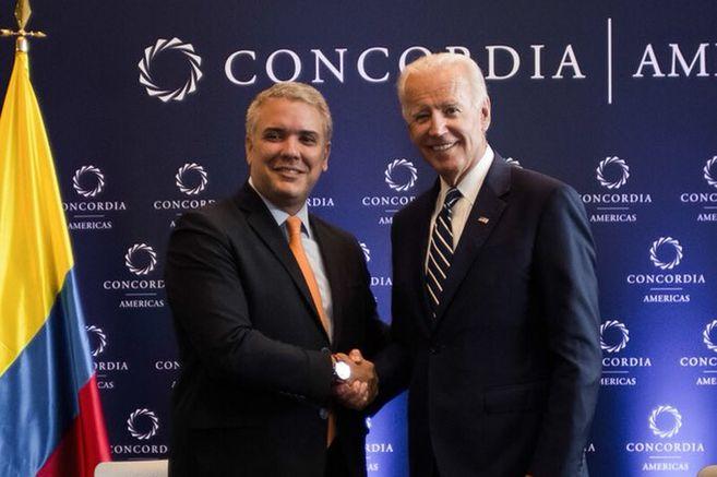 """Biden: """"Colombia es un país querido para mi corazón"""""""