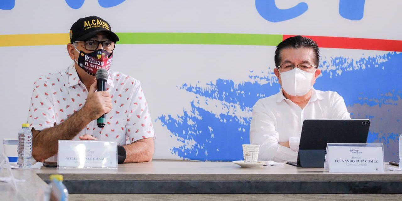 """""""Esta ciudad ha tenido un gran manejo en el comportamiento de la pandemia"""" Ministro de Salud"""