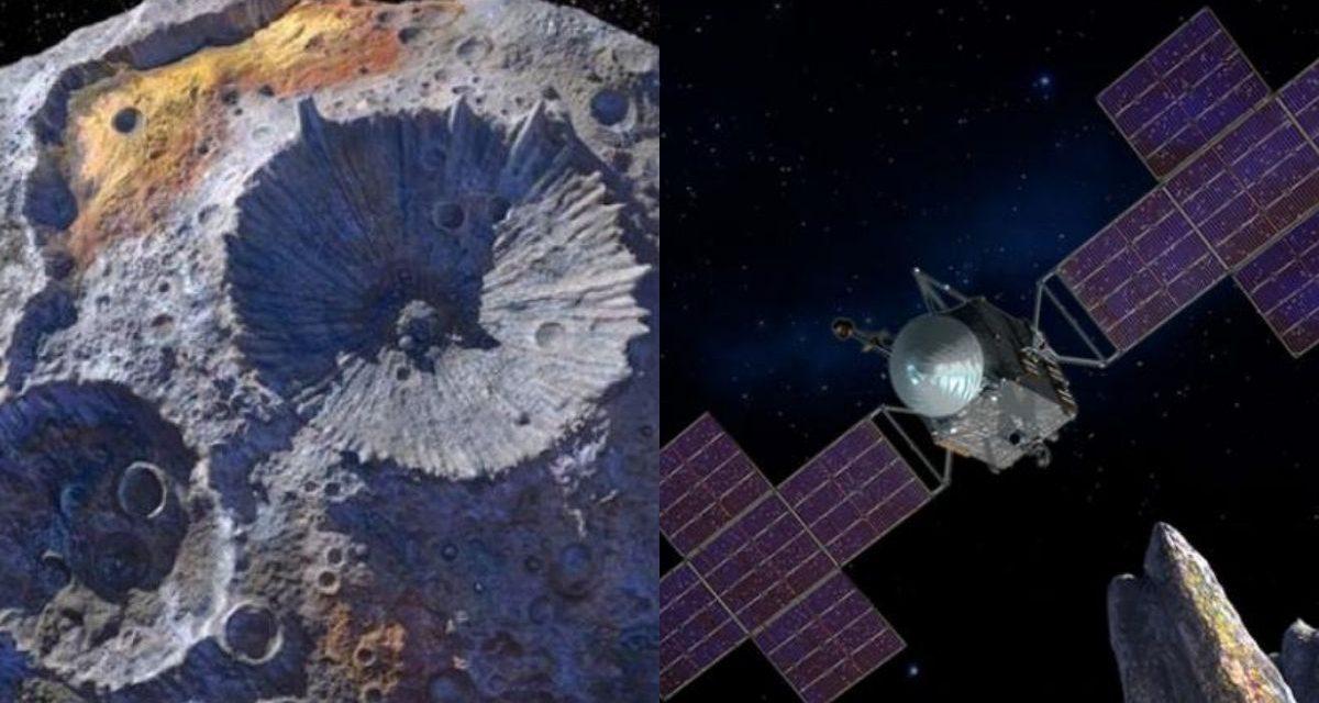 Asteroide de oro que cuesta más que la economía global