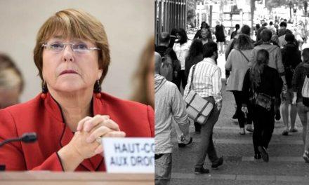 Bachelet pidió al Estado proteger su población colombiana